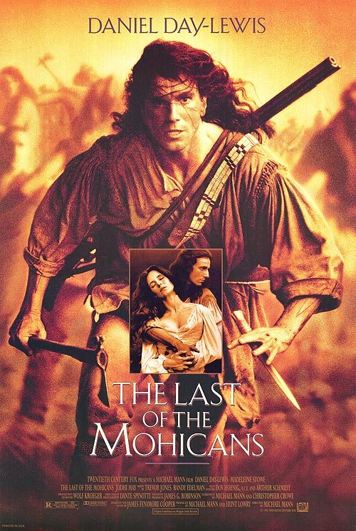 The Last of the Mohicans poster. Nathaniel running for Cora. Your sex life — and everything else — hinges on this one issue.